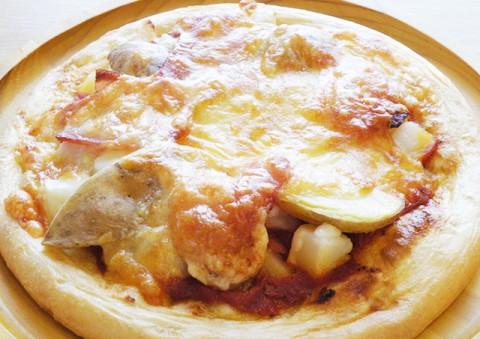 ラクレット&インカのめざめピザ